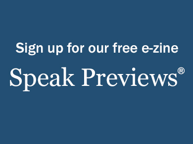 Sign Up for Speak Previews.